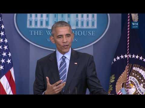 watch President Obama Holds a Press Conference