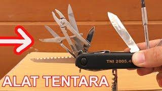5 ALAT TENTARA MILITER UNIK BERFAEDAH