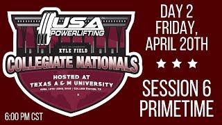 2018 USA Powerlifting Collegiate Nationals - Friday Primetime