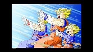 Goku,Gohan,Goten vs Broly   Final Kamehameha JAP