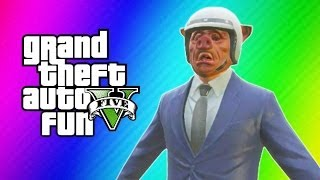 GTA 5 Online Funny Moments - Banana Bus, Derk, Mannequin Glitch, Gmod Stiffy Squad, Levitation!