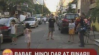 UB: Babae, hinoldap at binaril sa Makati