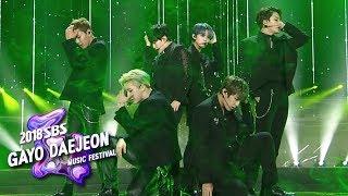 MONSTA X+SEVENTEEN+Wanna One - Again and Again [2018 SBS Gayo Daejeon Music Festival]
