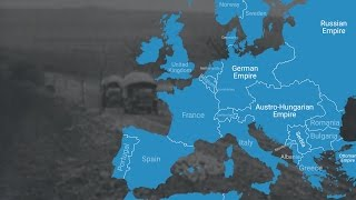 This animated map shows how World War I changed Europe's borders
