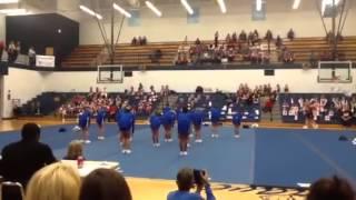 Walton Verona Powerhouse Cheer Competition 2012