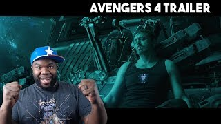 "Avengers 4 Trailer Reaction - ""Will I Watch Avengers Endgame 100 Times?!?"" #NemRaps"