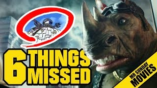 TEENAGE MUTANT NINJA TURTLES 2 Trailer Easter Eggs, References & Things Missed #BringDatKrang