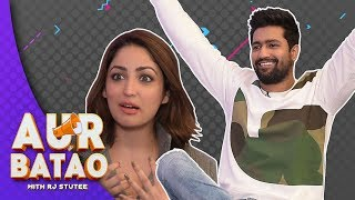 Vicky Kaushal on his relationship status || URI: THE SURGICAL STRIKE INTERVIEW || AUR BATAO