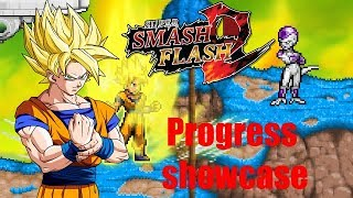 SSF2 MODS: SSJ Son Goku Revamp W.I.P. + Updated Base Form