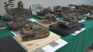 Výstava plastikových a papierových modelov