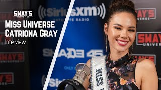 Miss Universe Catriona Gray on Sway In The Morning
