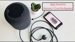 Apple HomePod Unboxing + Erste Einrichtung
