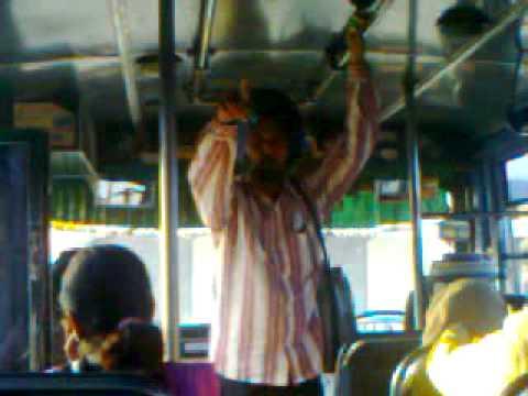 punjabi singer surma vechan wala at bathinda bus stand