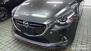 Mazda 2  สีเทา Machine Grey Metallic (46G) ชุดแต่งสวยๆ