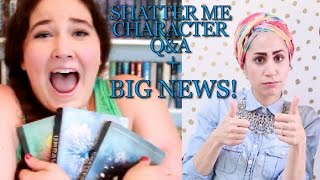 Shatter Me Character Q&A w/ TAHEREH MAFI! [+ANNOUNCEMENT!]