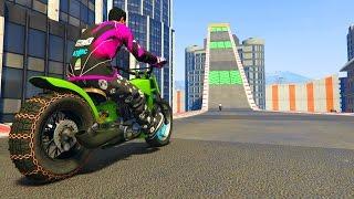 LA MOTO VOLADORA!! - CARRERA GTA V ONLINE - GTA 5 ONLINE