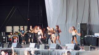 Dope Sexy Tinashe Opening The Pinkprint Tour @ Barclays Center Brooklyn NY