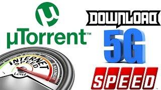 High Download Speed Utorrent Setting 2017 -Torrent Tricks