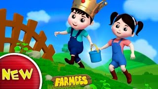 Jack and Jill Went Up The Hill | Nursery Rhymes | Kids Songs | Part 1 Baby Rhymes