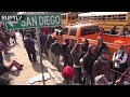 Download Video Download RAW: First migrants arrive at US-Mexico border 3GP MP4 FLV