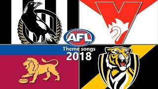 All AFL Theme songs - 2018