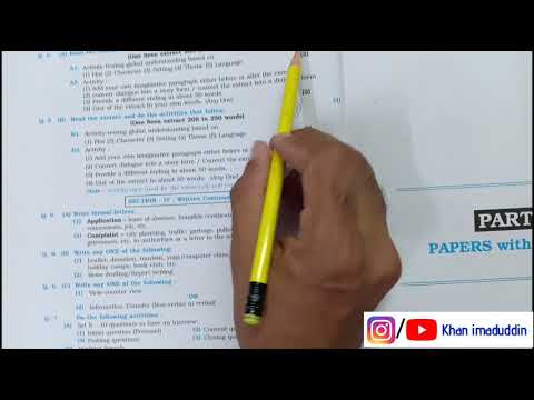 Xxx Mp4 English Model Paper With Solution Time Management Board Exam 2019 3gp Sex