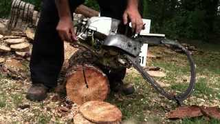 sawmandave's 750 pioneer direct drive saw with bow