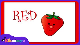 I Love Colors Don't Ask Me Why Song for Kids | Learn Colors |  The Kiboomers