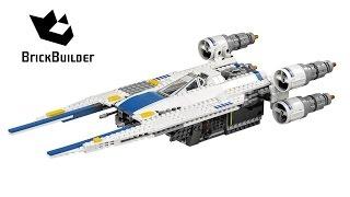 Lego Star Wars 75155 Rebel U-wing Fighter - Lego Speed Build