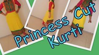 Princess Cut Kurti- Marking and Cutting- Part 2