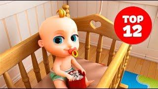 Джони Джони - Сборник - Johny Johny Yes Papa - TOP 12 Songs for Children - на Русском!