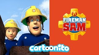 Fireman Sam | Rocky Cliff Rescue | Cartoonito UK 🇬🇧