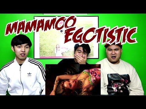 MAMAMOO - EGOTISTIC MV REACTION (FUNNY FANBOYS)