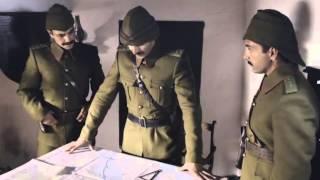 Çanakkale 1915 - Mustafa Kemal 57. Alayı Yola Çıkarıyor