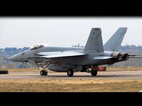 U.S. Navy - F/A-18E Super Hornets – Rocky Mtn. Metro Airport