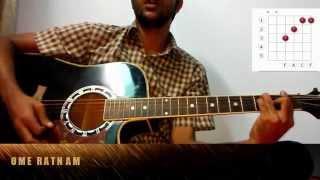 Bangla Band Song Fitash Er Kanna By Aurthohin - Guitar Lesson for the beginner