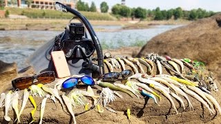 Searching for River Treasure! - iPhone, 5 Sunglasses, Fishing Tackle and MORE!