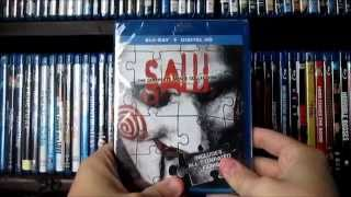 Saw Complete Blu-ray Collection Unboxing