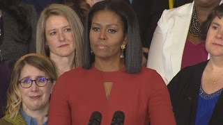 Michelle Obama Gets Emotional As She Delivers Final First Lady Remarks