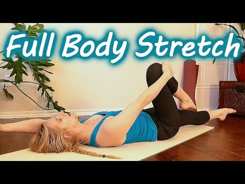 Relaxing Full Body Stretch | 20 Minute Beginners Routine for Pain Relief, Flexibility