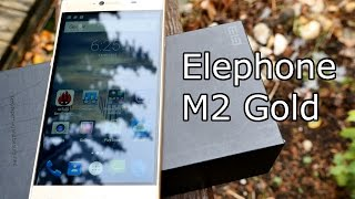 Elephone M2 unboxing & first look - Gold Edition - Great Specs for a low Price [4K]