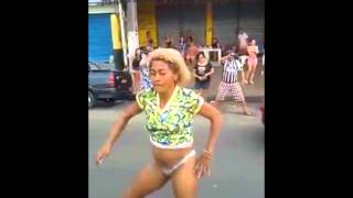 OLD LADY  DANCING IN THE STREETS