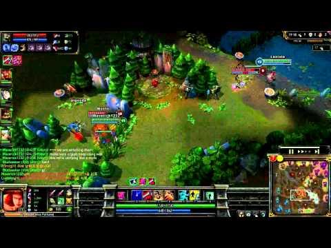 League of Legend Rank Game MissFortune 15 0 6