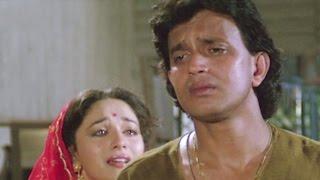 Mithun Chakraborty, Madhuri Dixit, Ilaaka - Emotional Scene 18/20