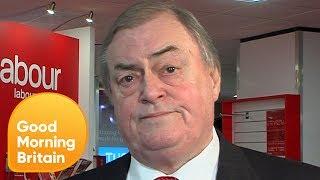 John Prescott Becomes Passionate Over Illegal Striking | Good Morning Britain