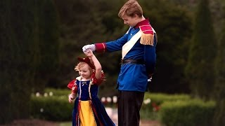 Big Brother Dresses As Prince Charming For Photo Shoot With Little Sister