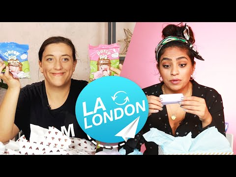Women Swap Mystery Beauty Boxes • LA & London