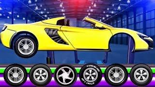 Sports Car Factory | Videos for Kids | Videos For Children | Sport Car for Kids Game App Kids