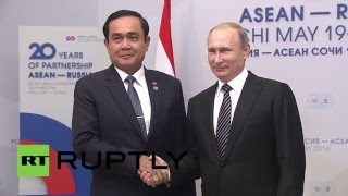 Russia: Thai PM thanks Putin for Russian support at ASEAN summit