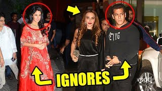 Salman Khan IGNORES Katrina Kaif & Leaves With EX Girlfriend Iulia Vantur
